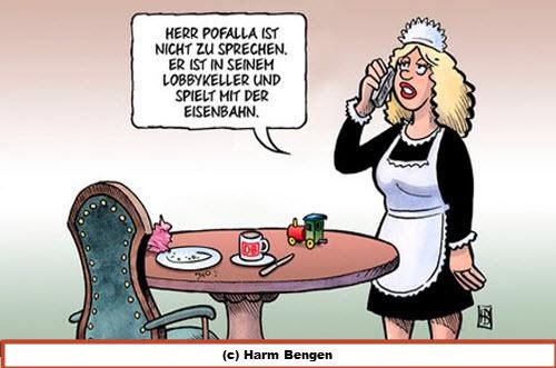 Karikatur Pofalla